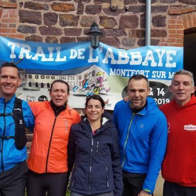 Trail de l'abbaye (14-15/04/19)